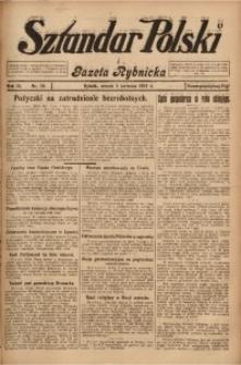 Sztandar Polski i Gazeta Rybnicka, 1927, R. 9, Nr. 39