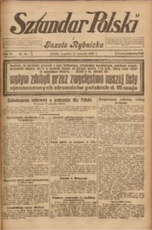 Sztandar Polski i Gazeta Rybnicka, 1927, R. 9, Nr. 45