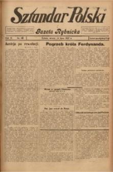 Sztandar Polski i Gazeta Rybnicka, 1927, R. 9, Nr. 84
