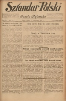 Sztandar Polski i Gazeta Rybnicka, 1927, R. 9, Nr. 122