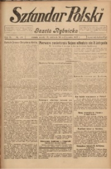 Sztandar Polski i Gazeta Rybnicka, 1927, R. 9, Nr. 124