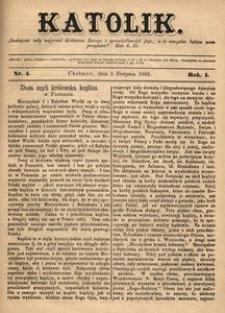 Katolik, 1868, R. 1, nr 4