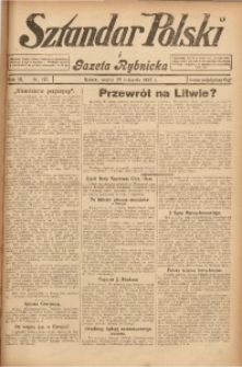 Sztandar Polski i Gazeta Rybnicka, 1927, R. 9, Nr. 137