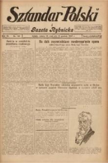 Sztandar Polski i Gazeta Rybnicka, 1927, R. 9, Nr. 142