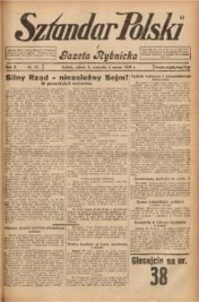 Sztandar Polski i Gazeta Rybnicka, 1928, R. 10, Nr. 27