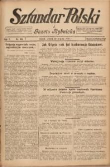 Sztandar Polski i Gazeta Rybnicka, 1928, R. 10, Nr. 100
