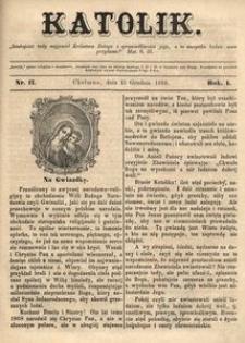 Katolik, 1868, R. 1, nr 17