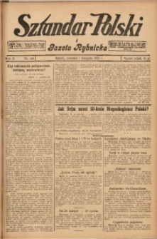 Sztandar Polski i Gazeta Rybnicka, 1928, R. 10, Nr. 128
