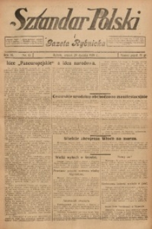 Sztandar Polski i Gazeta Rybnicka, 1929, R. 11, Nr. 13