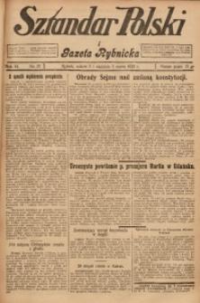 Sztandar Polski i Gazeta Rybnicka, 1929, R. 11, Nr. 27