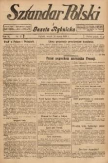 Sztandar Polski i Gazeta Rybnicka, 1929, R. 11, Nr. 37