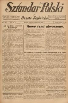 Sztandar Polski i Gazeta Rybnicka, 1929, R. 11, Nr. 45