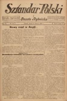 Sztandar Polski i Gazeta Rybnicka, 1929, R. 11, Nr. 66