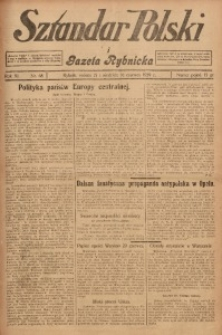Sztandar Polski i Gazeta Rybnicka, 1929, R. 11, Nr. 68