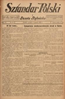 Sztandar Polski i Gazeta Rybnicka, 1929, R. 11, Nr. 91