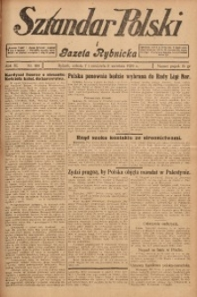Sztandar Polski i Gazeta Rybnicka, 1929, R. 11, Nr. 104