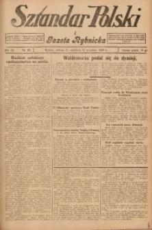 Sztandar Polski i Gazeta Rybnicka, 1929, R. 11, Nr. 110