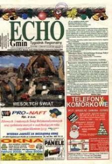 Echo Gmin : tygodnik regionalny 2003, nr 51-52 (327-328).
