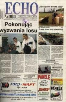 Echo Gmin : tygodnik regionalny 2002, nr 40 (264).