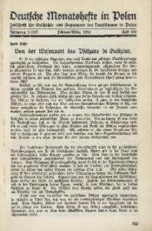 Deutsche Monatshefte in Polen, 1939, Jg. 5 (15), Heft 8/9