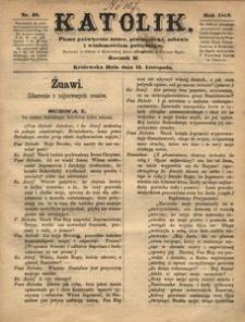 Katolik, 1869, R. 2, nr 38