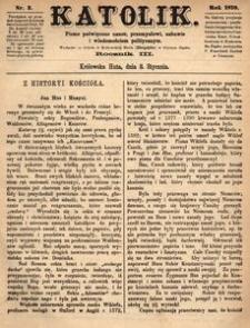 Katolik, 1870, R. 3, nr 2