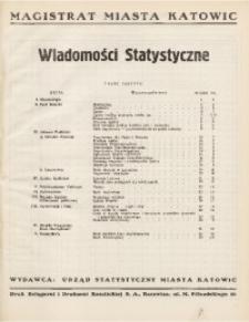Wiadomości Statystyczne, 1938, nr 10
