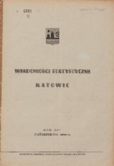 Wiadomości Statystyczne Katowic, 1948, R. 16, nr 10
