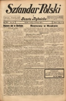 Sztandar Polski i Gazeta Rybnicka, 1935, R. 16, Nr. 40