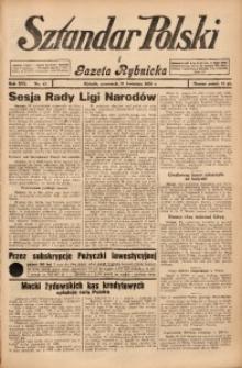 Sztandar Polski i Gazeta Rybnicka, 1935, R. 16, Nr. 47