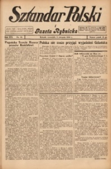 Sztandar Polski i Gazeta Rybnicka, 1935, R. 16, Nr. 92