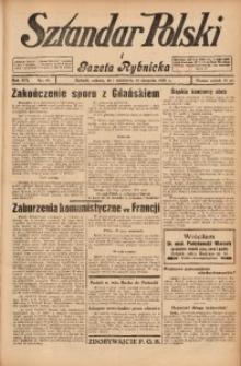 Sztandar Polski i Gazeta Rybnicka, 1935, R. 16, Nr. 93