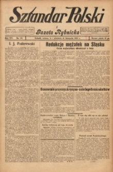Sztandar Polski i Gazeta Rybnicka, 1935, R. 16, Nr. 131