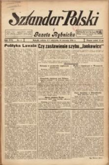 Sztandar Polski i Gazeta Rybnicka, 1936, R. 17, Nr. 4