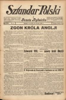 Sztandar Polski i Gazeta Rybnicka, 1936, R. 17, Nr. 9