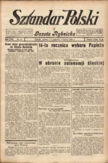 Sztandar Polski i Gazeta Rybnicka, 1936, R. 17, Nr. 16