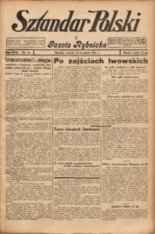 Sztandar Polski i Gazeta Rybnicka, 1936, R. 17, Nr. 46
