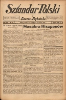 Sztandar Polski i Gazeta Rybnicka, 1936, R. 17, Nr. 97