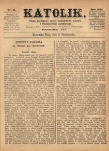 Katolik, 1870, R. 3, nr 41