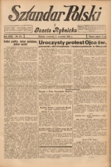 Sztandar Polski i Gazeta Rybnicka, 1936, R. 17, Nr. 108