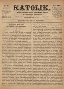 Katolik, 1870, R. 3, nr 42