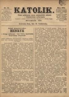 Katolik, 1870, R. 3, nr 44