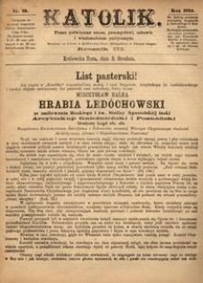 Katolik, 1870, R. 3, nr 49