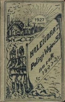 Kalendarzyk Policji Województwa Śląskiego 1927
