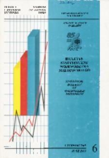 Biuletyn Statystyczny województwa małopolskiego, 2003, nr 6