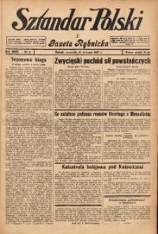 Sztandar Polski i Gazeta Rybnicka, 1937, R. 18, Nr. 8
