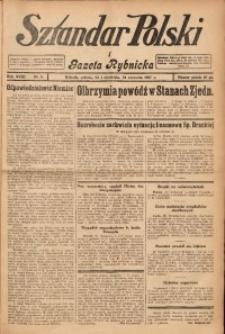 Sztandar Polski i Gazeta Rybnicka, 1937, R. 18, Nr. 9