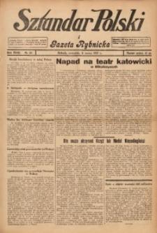 Sztandar Polski i Gazeta Rybnicka, 1937, R. 18, Nr. 29