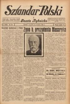 Sztandar Polski i Gazeta Rybnicka, 1937, R. 18, Nr. 107