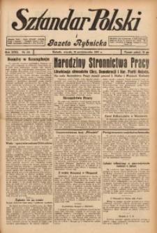 Sztandar Polski i Gazeta Rybnicka, 1937, R. 18, Nr. 118